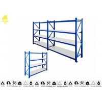 Buy cheap Stable Heavy Duty Warehouse Racking Shelving / Industrial Racks And Shelving 0.6mm product