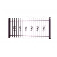 Buy cheap Metal Ornaments Prefabricated Metal Fence Panels For Garden Decoration product