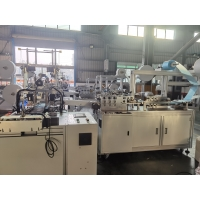 Buy cheap Anti Virus Disposable Mask Machine , Fully Automatic Non Woven Mask Making Machine product