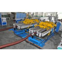 Buy cheap Automatic HDPE Spiral Tube Plastic Pipe Extrusion Line With Single Screw Design product
