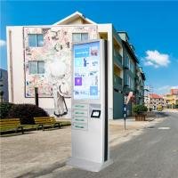 Buy cheap Outdoor Usb Fast Charging Cell Phone Charging Stations Kiosk Locker 6 Port Coin Operated product