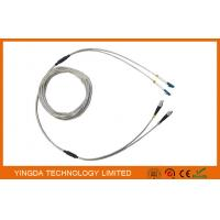 Buy cheap Full Armored Outdoor Optic Fiber Patch Cord DLC 2 Core Optical Cable Assembly product