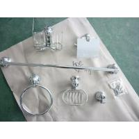 Buy cheap Zinc Bathroom Accessory Kit 6 PCS with Chrome Plated product