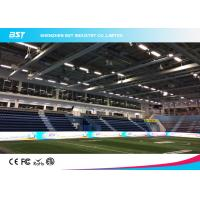 Buy cheap P16 SMD 3535 Full Color Stadium Perimeter LED Display Advertising Hoarding Rents product
