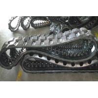 Buy cheap Exquisite Track Loader Rubber Tracks 2448mm Perimeter For Infrastructure product