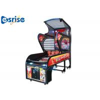 Buy cheap Deluxe Arcade Basketball Game Machine Smart Counting System Hardware Plastic Material product