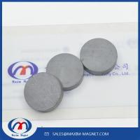 Quality Ceramic Round Magnets Y30/Y35 grade for sale