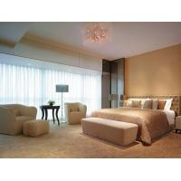 Hotel Leather King Size Bedroom Sets With Solid Wood Writing Desk Set