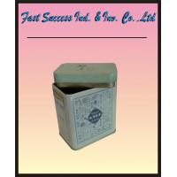 Buy cheap Square tin tea can product