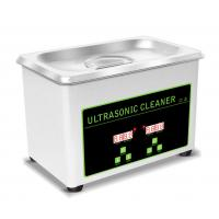 Buy cheap 0.8L Tank Portable Ultrasonic Cleaning Machine For Jewellery / Watch / Denture product