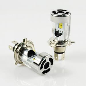 Wireless H4 LED Headlight Bulb , COB Chip 12 V Led Car Headlight Bulbs