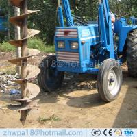 Buy cheap Heavy duty Post Hole Digger  Augers for Tractors Tractor PTO auger product
