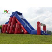 Buy cheap Colorful 25*10m Giant 5K Inflatable Sports Games / Commercial Inflatable Slide product