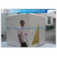 Cube Mini Inflatable Air Tent 2.4m Customized Fire Resistance for Advertisement