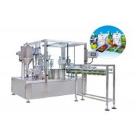 Buy cheap Fully Automatic Stand Up Pouch Zip Bag Liquid Packing Machine HT-ZGY1000 product