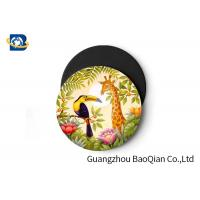 Buy cheap Wild Animal Art Image Lenticular Coasters 3D Decoative Cup Placemat 0.6MM PET product