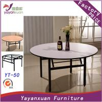 Buy cheap Large Round Dining Table can Foldable With High Quality(YT-50) product
