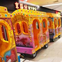 China Elephant Lovely Amusement Fun Train Rides / Kiddie Train Ride 14 Riders on sale