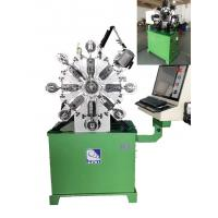 Buy cheap 380V Computerized Wire Bending Machine With 1 KW Cutter And Angle Rotor product