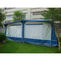 China All weather PVC vintage / Travel Trailer Awning for caravans , Blue on sale