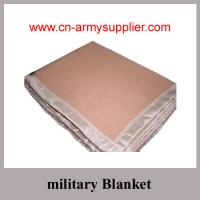 Buy cheap Army Polyester Wool Acrylic blanket with any colors product