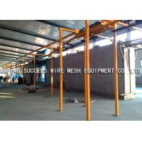 China Eco Friendly Wire Fence Making Machines , PVC Wire Coating Machine Various Colors on sale