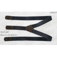 Buy cheap Elastic / PU Mens Fashion Suspenders Silk Printing On Elastic Tape Without Metals product
