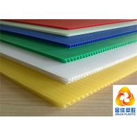 Buy cheap Light Weight But Compression Resistant Fluted / Corrugated Polypropylene Sheets from wholesalers