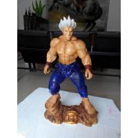 cartoon statue shin akuma statue as props and collection items by fiferglass material real street fighter real copy