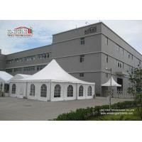 Buy cheap 10x10m White Color Pagoda Tent With Church Window, Garden Pagoda Tent from Wholesalers