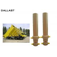 Buy cheap 3 / 4 Multi Stage Telescopic Dump Truck Lifting Hydraulic Cylinder product