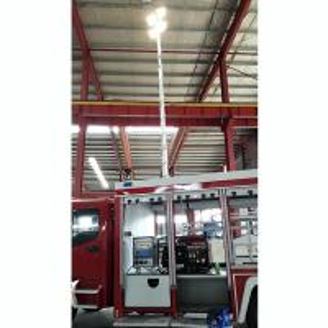 Buy cheap pneumatic telescopic mast light tower 7.6m pneumatic telescopic mast 4x1000W halogen lamps product