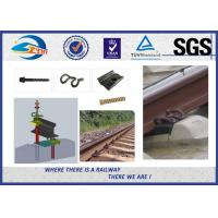 Oxide Black Rail Fastening System SKL Elastic Clamp For Railroad