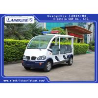 Buy cheap 8 Seats Electric Pick Up Car With Alarm Lamp For City Walking Street product