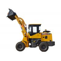 China Professional Small Front End Loader , Caterpillar Compact Wheel Loader CE ISO on sale