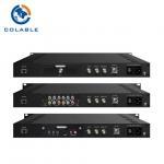 Buy cheap DVB S / S2 QPSK 8PSK Encoder Modulator With SDI Input For DSTV COL5011U-B product