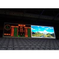 Buy cheap Large 8mm Stadium Perimeter LED Display , SMD3535 Full Color LED Scoreboard product