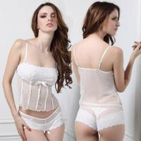Buy cheap Stretch Lace Camisole & body short set sexy underwear product