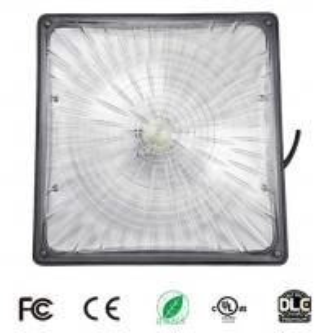 Buy cheap 8000 Lumens 65W LED Parking Garage Lights Emergency Backup 5000 K UL DLC 120 V product
