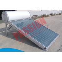 Buy cheap Compact Pressure Solar Water Heater 150 Liter Anode Oxidation Coating product