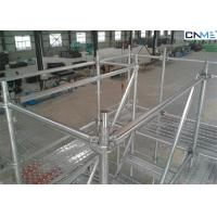 Buy cheap Walk Through Scaffolding Concrete Formwork , Residential Scaffolding Systems from Wholesalers