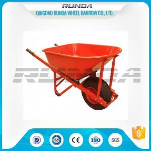 China Industrial 7CBF Big Wheel Wheelbarrow Steel Frame Wheel 16X6.50-8 Heavy Duty on sale