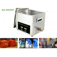 Buy cheap Stainless Steel 304 Digital Ultrasonic Cleaner Dx Dx 6 DX7 Print Head 10L Tank product