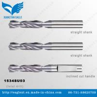China Solid Carbide Universal Twist Drill Bit with Tapered Shank on sale