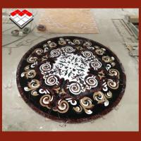 Buy cheap Luxury Palace Design Water Jet Medallion Marble Flooring Tiles Design product