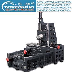Buy cheap 1360*700mm Horizontal CNC Lathe Horizontal CNC Miller Box Way CNC Milling Machine Center product