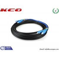 Buy cheap SC / UPC To SC / UPC FTTH Single Mode Duplex Fiber Optic Patch Cord product