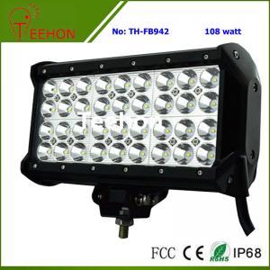Buy cheap 108 Watt 9 Inch Quad-Row off-Road LED Light Bar for ATV and UTV product