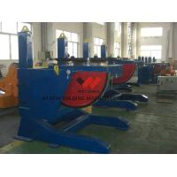 Buy cheap 5000kg Height Adjustable Pipe Welding Positioners Manual With Fixed Tilting Speed product