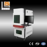Buy cheap Fiber Laser Marking Machine 50w Raycus For Guns Engraving product